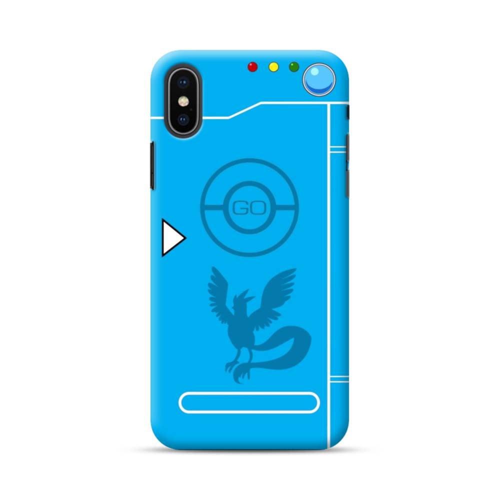 best loved 2cab9 5fbf7 Pokemon Go Team Mystic iPhone XS Max Case