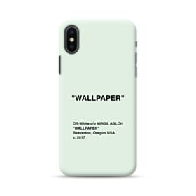 Wallpaper Minimalism iPhone XS Max Case
