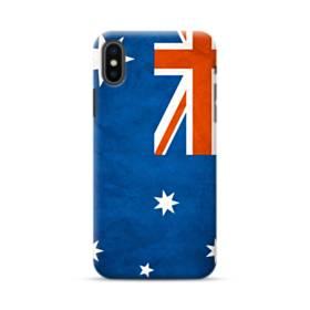 Australia Flag Grunge iPhone XS Max Case
