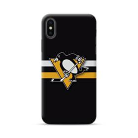 Pittsburgh Penguins Black iPhone XS Max Case
