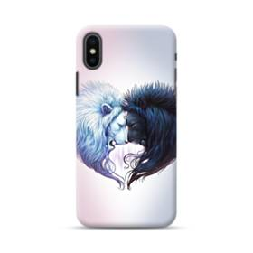 Lions Couple Heart iPhone XS Max Case