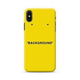 Background Minimalism iPhone XS Max Case