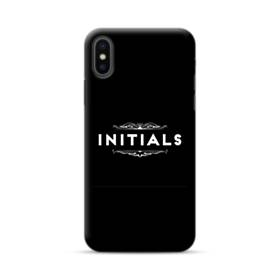 Initials Are Enough iPhone XS Max Case