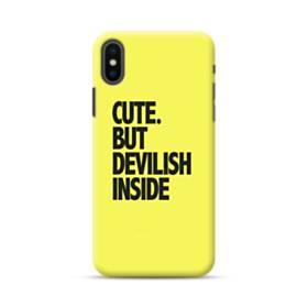 Cute But Devilish Inside iPhone XS Max Case