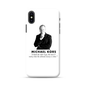 Ultimate Luxury Is Time Michael Kors Quote iPhone XS Max Case