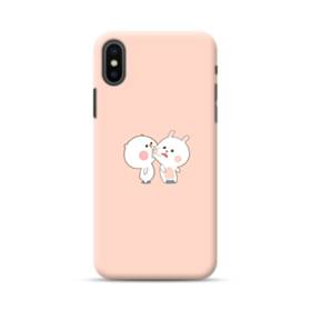 Cute Kiss Cartoon iPhone XS Max Case