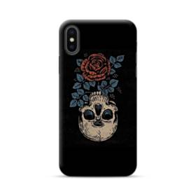 Rose And Skull iPhone XS Max Case