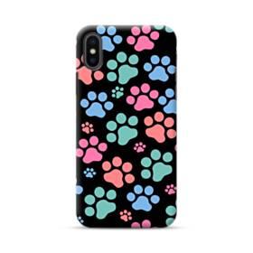 Dog Paw Print iPhone XS Max Case
