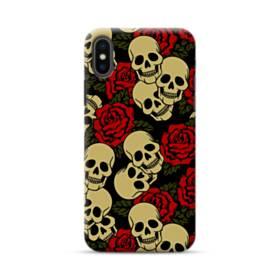 Rose Skulls iPhone XS Max Case