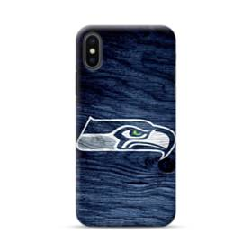 Seattle Seahawks Wood Texture iPhone XS Max Case