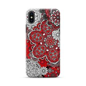 Paisley Oriental Traditional Flower iPhone XS Max Case