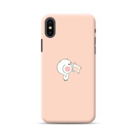 Cute Ate Cartoon iPhone XS Max Case
