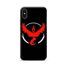 Pokemon Go Team Valor Red Logo iPhone XS Max Case