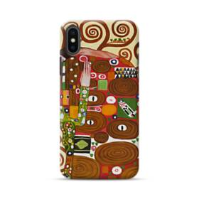 Fulfillment The Embrace By Gustav Klimt iPhone XS Max Case