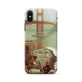 Biking In San Francisco iPhone XS Max Case