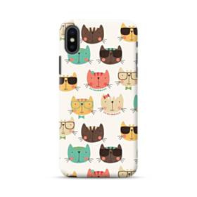 Kitty Pattern iPhone XS Max Case