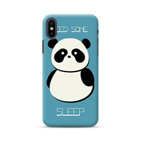 Sleepy Panda iPhone XS Max Case