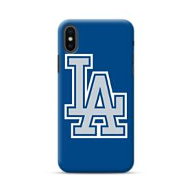 Los Angeles Dodgers La Logo iPhone XS Max Case