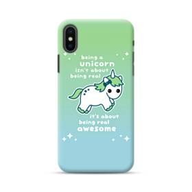 Real Awesome Unicorn iPhone XS Max Case