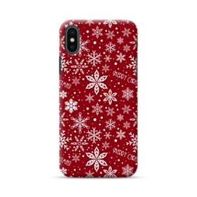 Merry Christmas Pattern iPhone XS Max Case