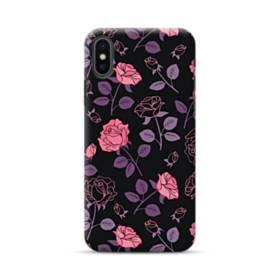 Rose Illustration iPhone XS Max Case
