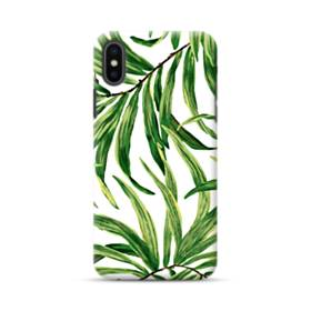 Green Leaves iPhone XS Max Case