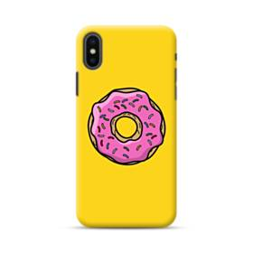 Pink Donut iPhone XS Max Case