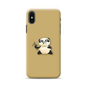 Panda Eating Bamboo iPhone XS Max Case