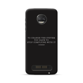 Burberry Moto Z2 Force Case