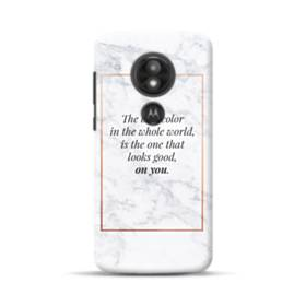 Coco Chanel Best Quote About Color Motorola Moto E5 Play Case