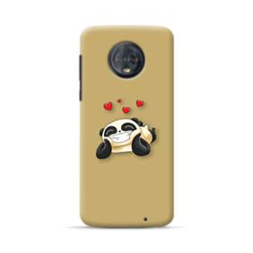 Panda In Love Motorola Moto G6 Plus Case