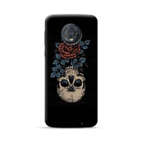 Rose And Skull Motorola Moto G6 Plus Case