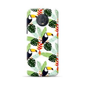 Tropical Garden Parrot Motorola Moto G6 Plus Case