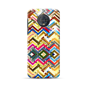 Digital Wave Pattern Motorola Moto G6 Plus Case