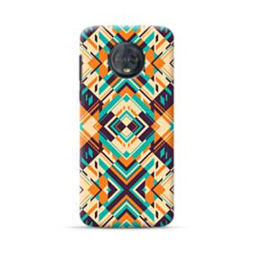Digital Geometric Pattern Motorola Moto G6 Plus Case