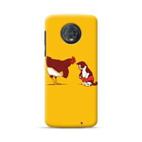 Chick And Cat Motorola Moto G6 Plus Case