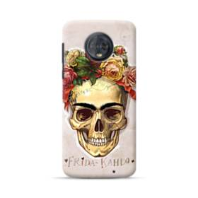 Frida Kahlo Rose Skull Motorola Moto G6 Plus Case