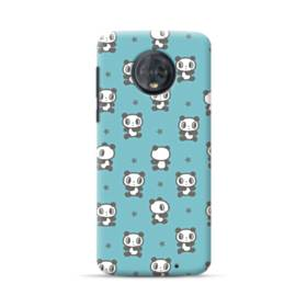 Cute Panda Motorola Moto G6 Plus Case
