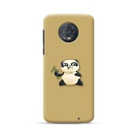 Panda Eating Bamboo Motorola Moto G6 Plus Case