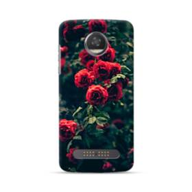 Red Roses Motorola Moto Z3 Case
