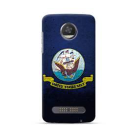 Flag Of The United States Navy Motorola Moto Z3 Case