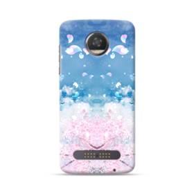 Sakura Petal Motorola Moto Z3 Case