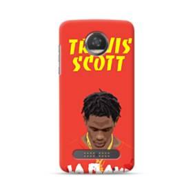 Travis Scott Poster Motorola Moto Z3 Case