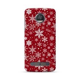 Merry Christmas Pattern Motorola Moto Z3 Case