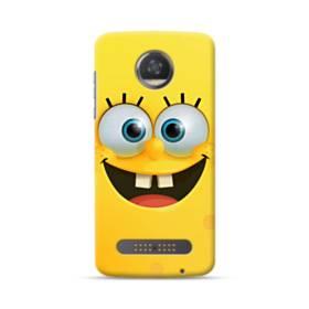 SpongeBob Smiling Face Moto Z3 Play Case