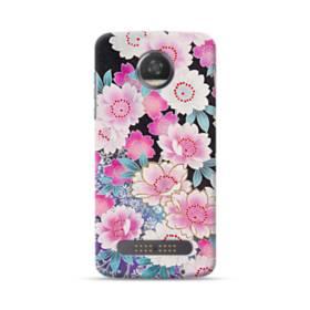 Japanese Flower Moto Z3 Play Case