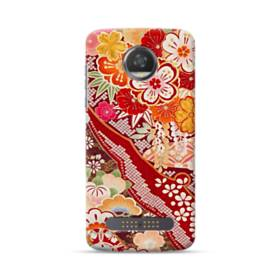 Vintage Flower Moto Z3 Play Case