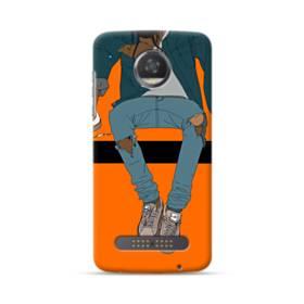 Rodeo Illustration Moto Z3 Play Case