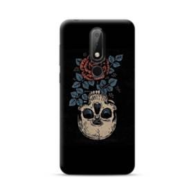 Rose And Skull Nokia 6.1 Plus Case