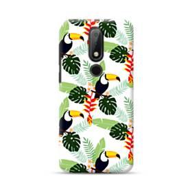 Tropical Garden Parrot Nokia 6.1 Plus Case